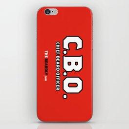 CHEIF BEARD OFFICER  iPhone Skin