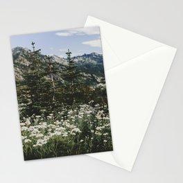 Mount Rainier Summer Wildflowers Stationery Cards