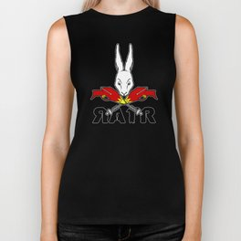 Crossed Rayguns Biker Tank