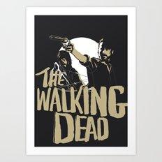 The Walking Dead Art Print
