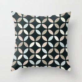 Art Deco circles design Throw Pillow