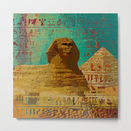 Sphinx  Abstract composition Metal Print