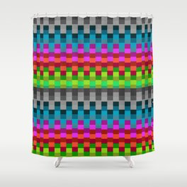 Stable Colour Shower Curtain