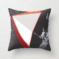 Light Folds Throw Pillow