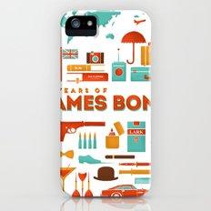 James Bond 50 Years  iPhone (5, 5s) Slim Case
