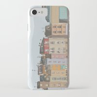 cityscape iPhone & iPod Cases featuring Cityscape by Paint Your Idea