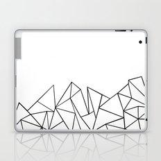 Ab Peaks White Laptop & iPad Skin