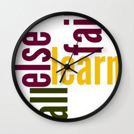 Learn Wall Clock