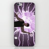 tesla iPhone & iPod Skins featuring Tesla by Todd A. Winter