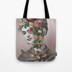 Frida Floral II Tote Bag