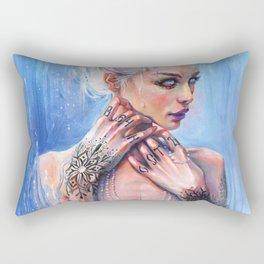 THE MIRROR OF REASON Rectangular Pillow