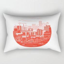 Rebuild Japan Rectangular Pillow