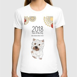 Year of the Dog - Terrier T-shirt