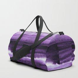 Violet Escape Watercolor Duffle Bag