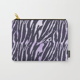 Tiger Rose Watercolor Gradient Carry-All Pouch