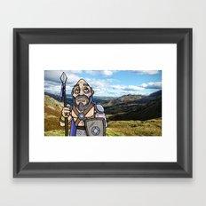 Carlin the Caledonian Framed Art Print