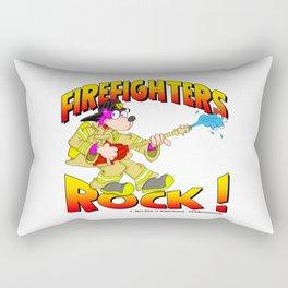 Firefighters Rock Merchandise Rectangular Pillow