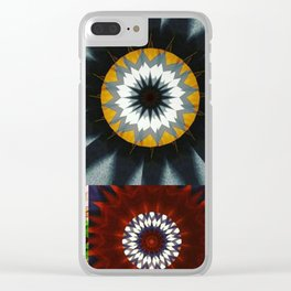 Kaleidoscope Photo Art Clear iPhone Case