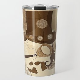 Steam Punked Travel Mug