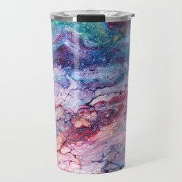 Rainbow Dream Groovy Flow #22 Travel Mug
