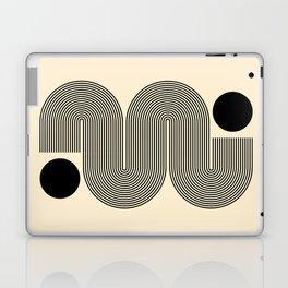 Abstraction_NEW_SUN_LINE_POP_ART_Minimalism_0299A Laptop & iPad Skin