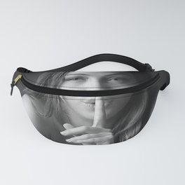 Silence is gold Fanny Pack
