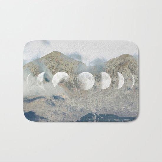 Moonrise Mountains Bath Mat