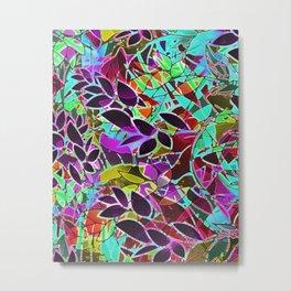Floral Abstract Artwork G128 Metal Print
