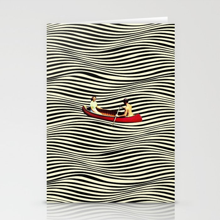Illusionary Boat Ride Stationery Cards