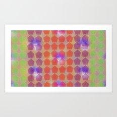 the dance floor 80 Art Print