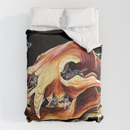 Honey Bear Skull Comforters