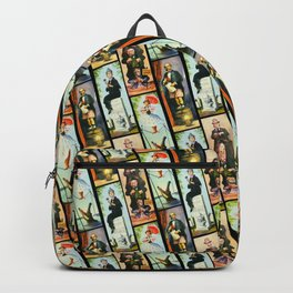 Haunted Mansion Stretch Paintings Backpack