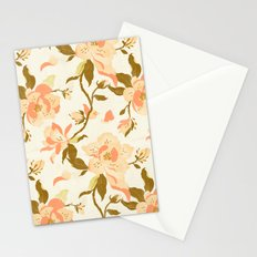 Magnolia Pattern Stationery Cards