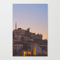 palestine Canvas Prints featuring Palestine by ear2ear