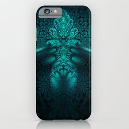 Genomorphic - Fractal Manipulation - Visionary iPhone Case