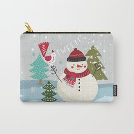 The Sweet Song Of Winter Friends Carry-All Pouch