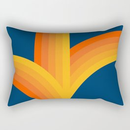 Bounce - Sunset Rectangular Pillow