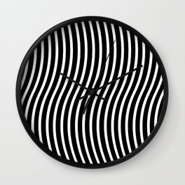 Bent Out Of Shape Wall Clock
