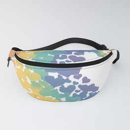The Great Wave of Love, Pride & Tolerance Fanny Pack