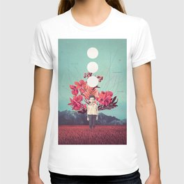 Standing at the Threshold of Time T-shirt