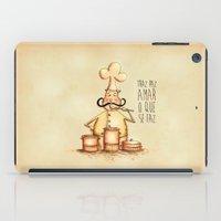 chef iPad Cases featuring Chef Amar by Carol Porto Estúdio