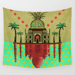 pineapple architecture 2 Wall Tapestry