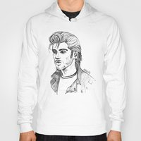 zayn Hoodies featuring Greaser Zayn by Ashley R. Guillory