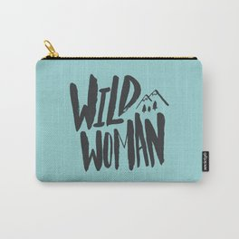 Wild Woman x Blue Carry-All Pouch