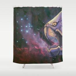 Dunkleosteus Shower Curtain