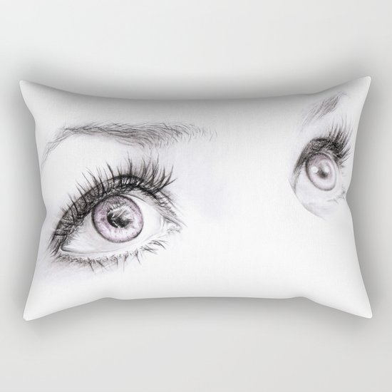 Eyes Rectangular Pillow