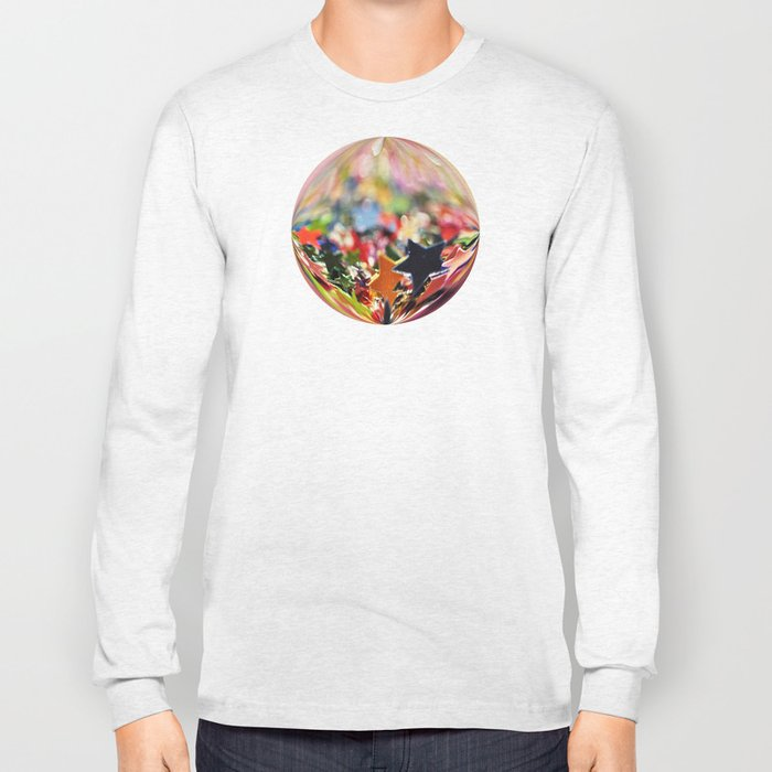 Starry Bokeh Ocean... Long Sleeve T-shirt