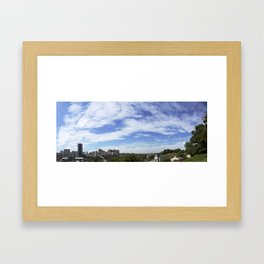 Richmond - Panorama Framed Art Print
