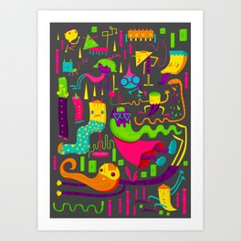 The Weirdos Art Print