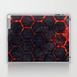 Lava Hexagons Laptop & iPad Skin